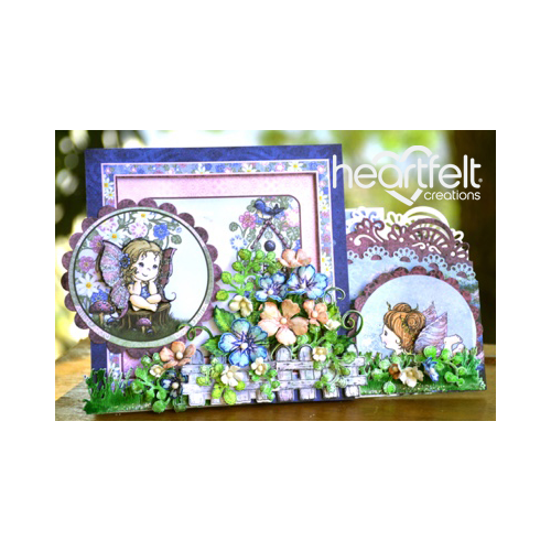 Floral Fairy Scene