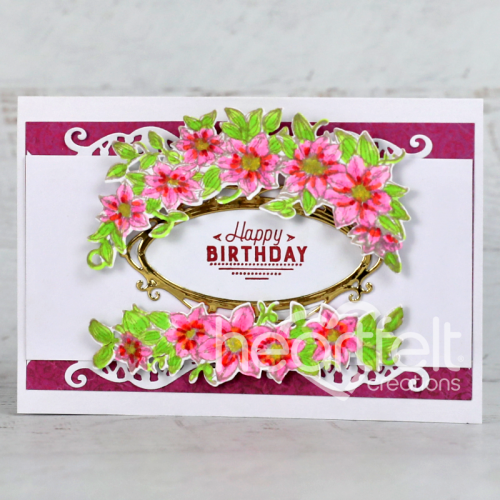 Floral Birthday Spray