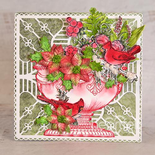 Floral Shoppe Cardinals