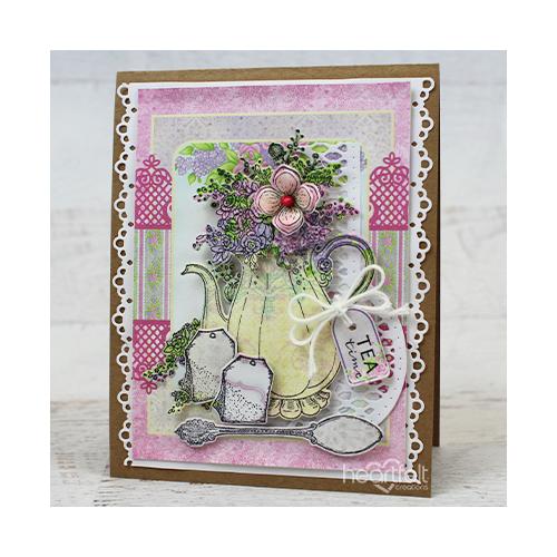 Flowering Teapot