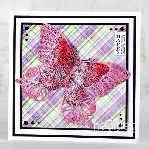 Fluttering Plaid