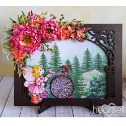Framed with Sweet Peonies