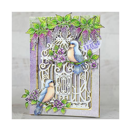 Framed Songbirds