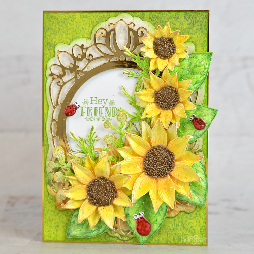 Friendly Sunflowers