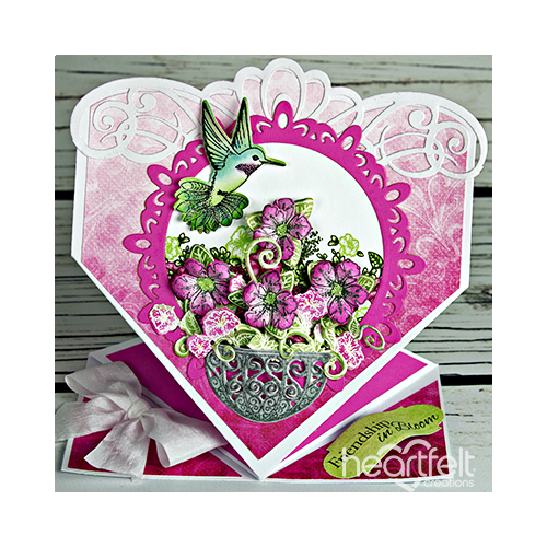 Friendship in Bloom Springform Card