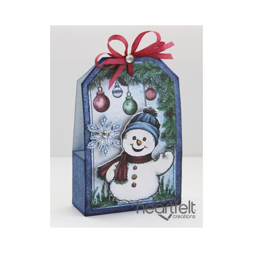 Frolicking Frosty Gift Box