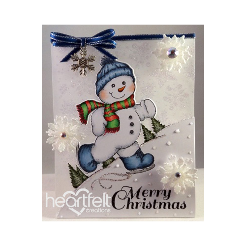Frosty Vellum Card