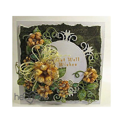 Get Well Wishes Roses And Doily