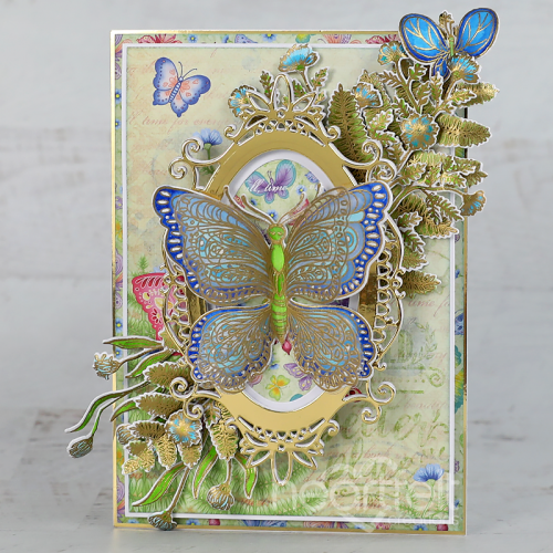 Gilded Butterfly Frame