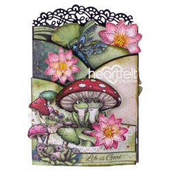 Good Life Froggie Foldout Card