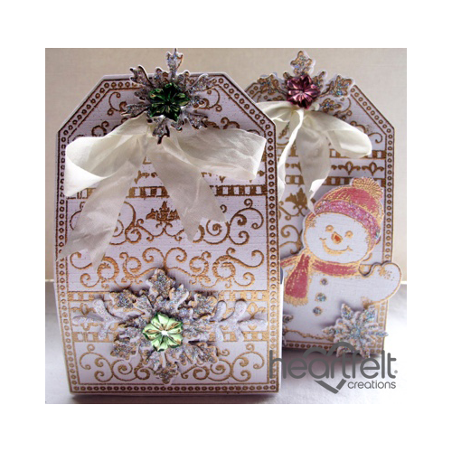 Golden Tag Gift Boxes