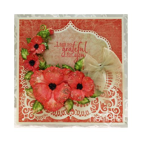 Grateful Poppies Card
