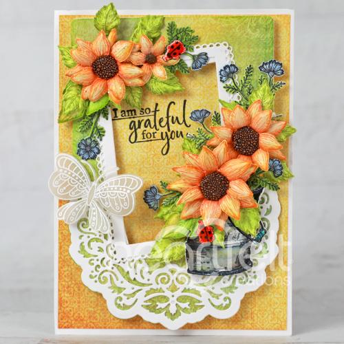 Grateful Sunflowers