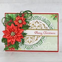 Heart of Joy Christmas Poinsettia