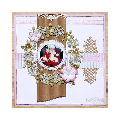 Holiday Wreath Layout