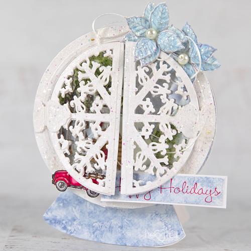 Holiday Glittering Globe