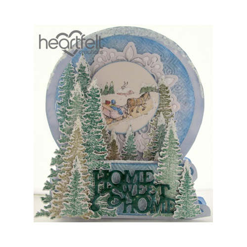 Home Sweet Home Snow Globe Card