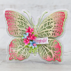 Hyacinth Floral Butterfly