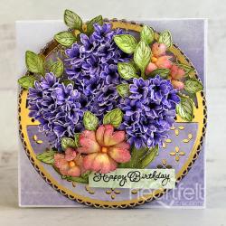 Hyacinths and Peonies