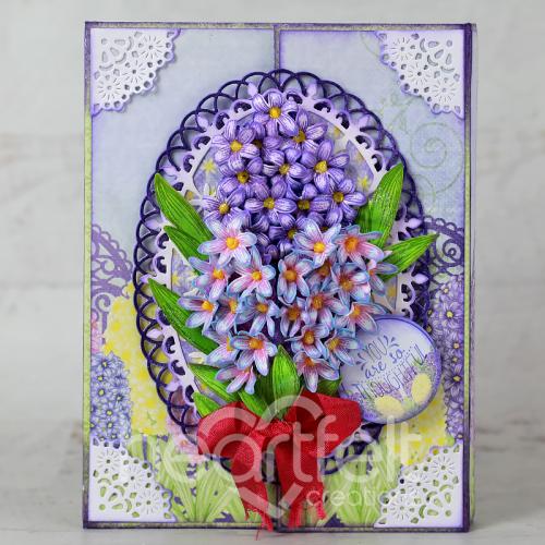 Hyacinth Stationery Set