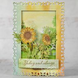 Intricate Sunflowers