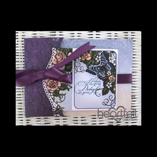 Joy Fold Floral Card