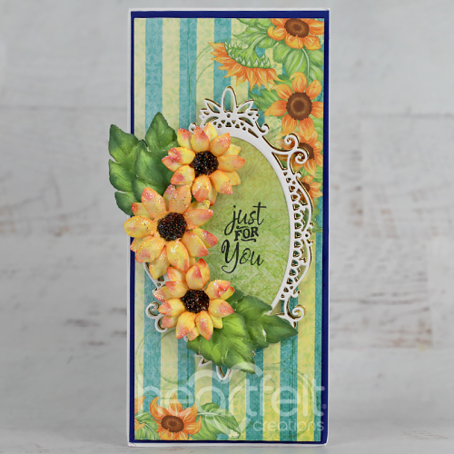 Just For You Sunflower Slimline