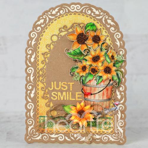 Just Smile Sunflowers