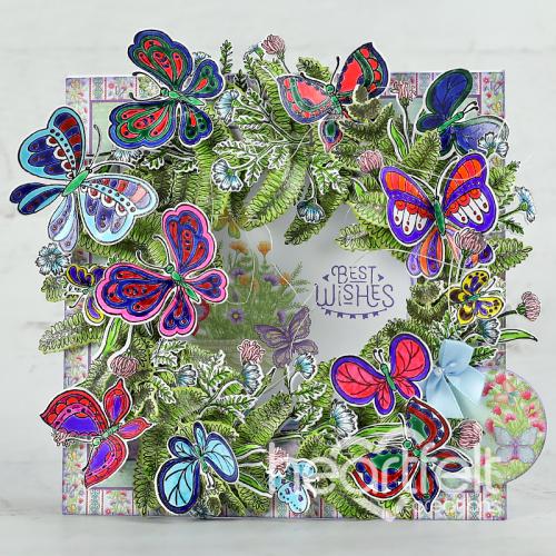 Kaleidoscope Wreath