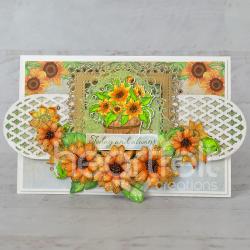 Lattice Sunflowers