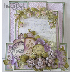 Lavender Rose Z Slider Card