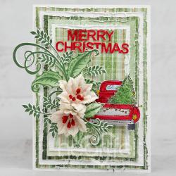 Layered Merry Christmas
