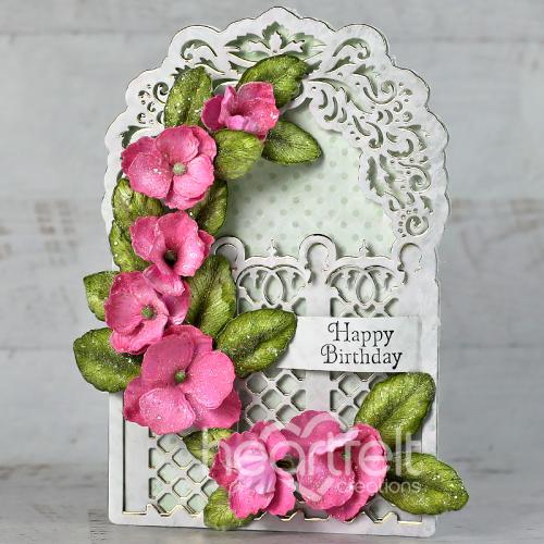 Lattice Birthday Blooms