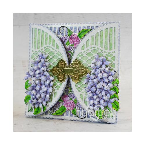 Latticed Lilacs