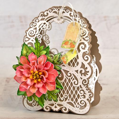 Lattice Floral Basket