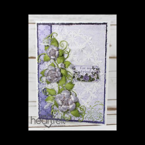 Lavender Dusty Roses