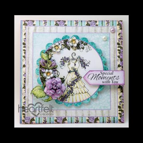 Lavender Rose And Dress