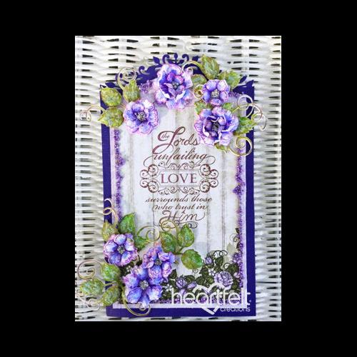 Lavender Rose Easel Card