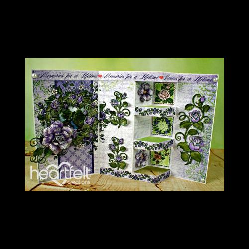 Lavender Rose Pop In Card