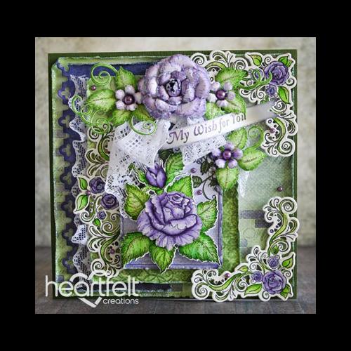 Lavender Rose Wishes