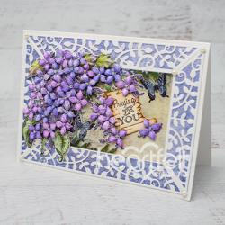 Lilac Leafy Frame