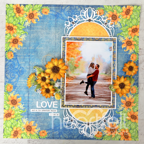 Love-ly Sunflowers