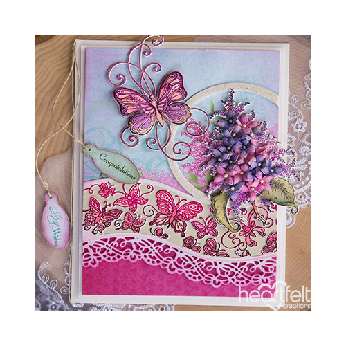 Lovely Lilacs and Beautiful Butterflies