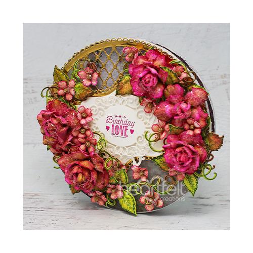 Lovely Lattice Roses
