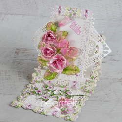 Magnolia Easel Step Card