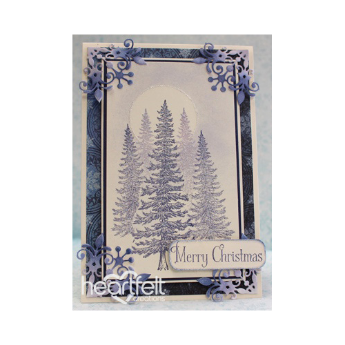 Masked Blue Spruce Card