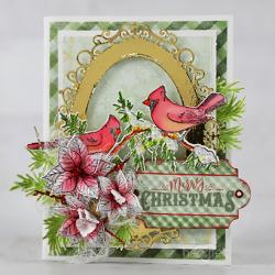 Merry Christmas Cardinals