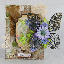 Mixed Media Butterfly