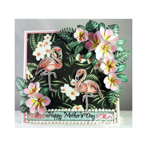 Mother's Day Flamingo
