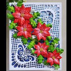 Ornate Poinsettias